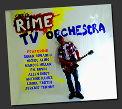 Pochette CD Chris Rime