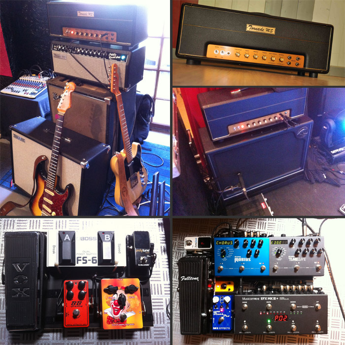 Photo Pedalboard Cyril Cagé