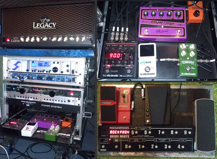 Photo Pedalboard Dorian Ciet