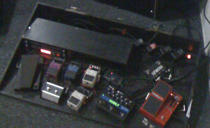 Photo Pedalboard Fred Duquesne