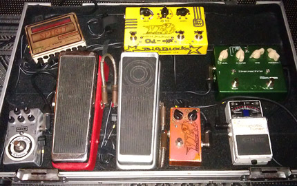 Photo Pedalboard Julien Gatter