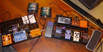 Photo Pedalboard Pierrejean Gaucher