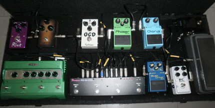 Photo Pedalboard Christian Kramp