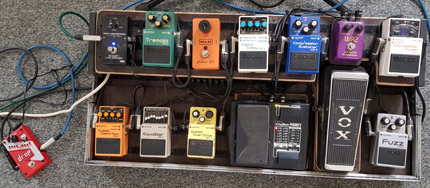 Photo Pedalboard MisterFuzzyB