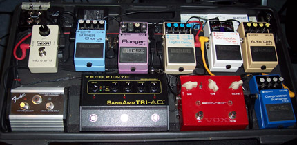 Photo Pedalboard Pierre Reeds
