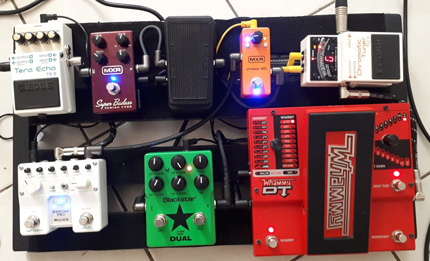 Photo pedalboard Charles Roussel