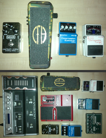 Photo Pedalboard Anthony Sanchez Garcia