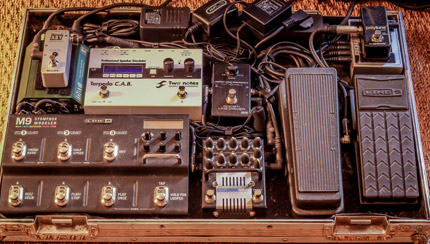 Photo Pedalboard Kenny Serane