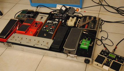 Photo Pedalboard Vincent Sexauer