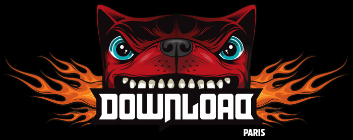 Logo Download Festival Paris 2018